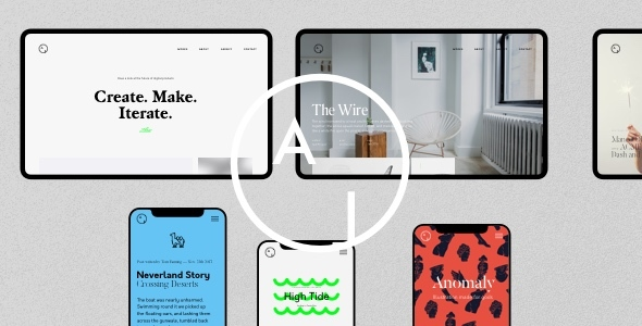Airtifact - Portfolio WordPress Theme