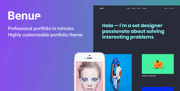 Benue - Portfolio Theme for WordPress