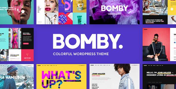 Bomby - Creative Multipurpose WP Theme