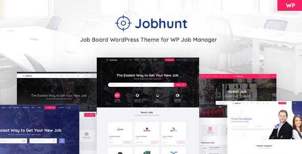 Jobhunt - Job Board WordPress Theme