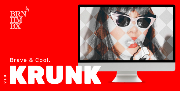 Krunk - Cool WordPress Blog Theme