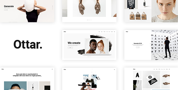 Ottar - A Contemporary Portfolio Theme