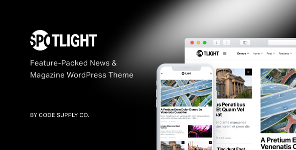 Spotlight - Feature-Packed News WP Theme