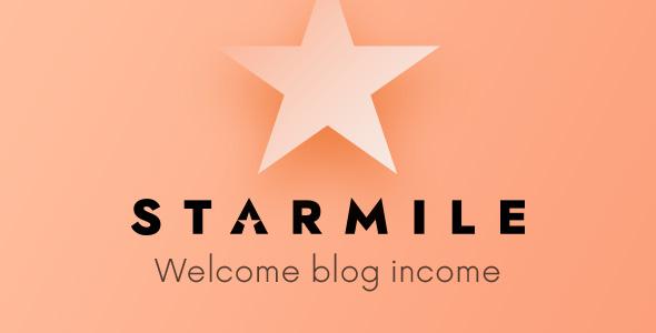 Starmile - Blog Monetization WP Theme